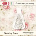Wykrojnik CRAFT & YOU CW021 WEDDING DRESS / SUKNIA ŚLUBNA