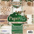 Papier StudioLight 15x15 a'36ark PPWW56 WOODLAND WINTER