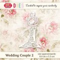 Wykrojnik CRAFT & YOU CW019 WEDDING COUPLE 2 / MŁODA PARA 2