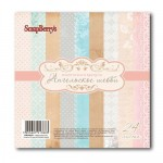 Papier ScrapBerry's 15,2x15,2 170g a'24ark 2206101 ANGEL SHABBY
