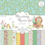 Papier Helz C. 15,2x15,2 a'48ark HCDP015 RIVERBANK REVELS