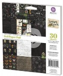 Papier Prima 15,2x15,2 a'30ark FOREVER GREEN 846954