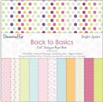 Papier Dovecraft 15,2x15,2 a'72ark DCDP151 BACK TO BASICS - BRIGHT SPARK