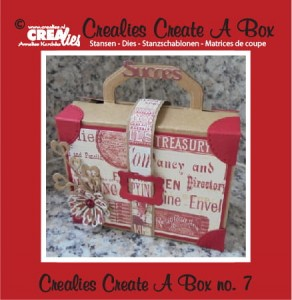 Wykrojnik CREAlies CCAB07 No. 07 - CREATE A BOX - WALIZKA
