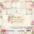 PAPIER SCRAP C&Y 15,2*15,2 A'36ARK MY WEDDING
