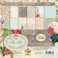 PAPIER SCRAP C&Y 30,5*30,5 A'12ARK TEA TIME