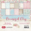 PAPIER SCRAP C&Y 15,2*15,2 A'36ARK BEAUTIFUL DAY