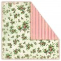 Papier UHK 30x30 CHRISTMAS IN AVONLEA - HOLLY