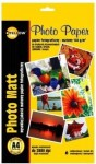 PAPIER FOTO YELLOW A4 A'50ARK 190G/M2 MATOWY