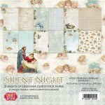 PAPIER SCRAP C&Y 30,5*30,5 A'12ARK SILENT NIGHT