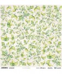 Papier ScrapAndMe 30x30 Meadow Impressions Leaves