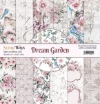 Papier ScrapBoys 30,5x30,5 Dream Garden zestaw