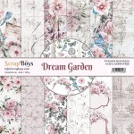 Papier ScrapBoys 15x15 Dream Garden bloczek