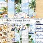 Papier ScrapBoys 15x15 Summer Breeze bloczek