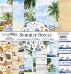 Papier ScrapBoys 30,5x30,5 Summer Breeze zestaw