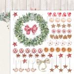 Papier scrap LemonCraft 30,5*30,5 This Christmas 04