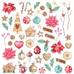 Papier scrap LemonCraft 30,5*30,5 This Christmas 09