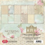 PAPIER SCRAP C&Y 30,5*30,5 A'12ARK WEDDING GARDEN