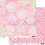 Papier scrap Craft Passion 30,5*30,5 Cute Bunny Girl 02