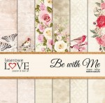 PAPIER SCRAP LL 30,5*30,5 BE WITH ME ZESTAW