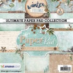PAPIER SCRAP SL 15*15 170G A'36ARK PPWF89 Winter Feelings