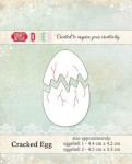 WYKROJNIK CRAFT&YOU CW016 CRACKED EGG / SKORUPKA