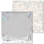 PAPIER SCRAP LL 30,5*30,5 ARCTIC SWEETIES 02