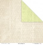 PAPIER SCRAP LL 30,5*30,5 BEIGE AND GREEN JOY 04