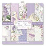 PAPIER SCRAP STAMPERIA 30,5*30,5 170G A'10 SBBL21 LILAC FLOWERS