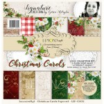PAPIER SCRAP LemonCraft 30,5*30,5 CHRISTMAS CAROLS zestaw