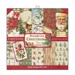PAPIER SCRAP STAMPERIA 30,5*30,5 170G A'10 SBBL23 CHRISTMAS TIME