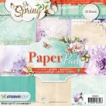 PAPIER SCRAP SL 15*15 170G A'36ARK PPSS76 So Spring