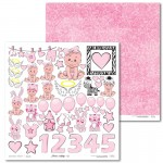 PAPIER SCRAP LL 30,5*30,5 EMMA & BILLY 01