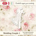 WYKROJNIK CRAFT&YOU CW018 WEDDING COUPLE 1 / MŁODA PARA 1