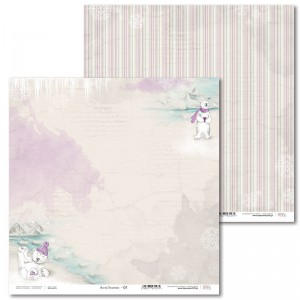 PAPIER SCRAP LL 30,5*30,5 ARCTIC SWEETIES 01