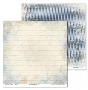 PAPIER SCRAP LL 30,5*30,5 NAUTICAL HOLIDAYS 01
