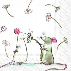 SERWETKA LUZ 33*33 IHR 732600 A DAISY FOR YOU