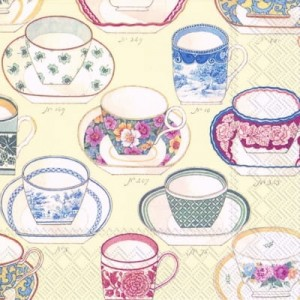 SERWETKA LUZ 25*25 IHR 572860 COLLECTION OF CUPS