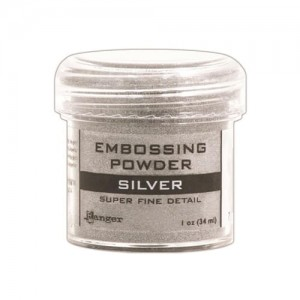 Puder do embossingu RANGER Embossing Powder 34ml EPJ37415 SILVER Super Fine Detail