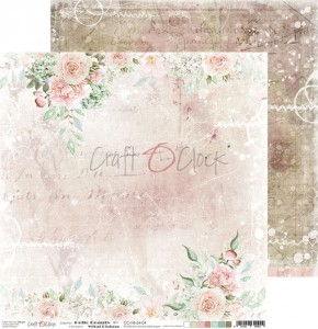 Papier scrap Craft O'Clock 30,5*30,5 Hello Beauty 04