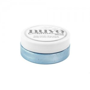 Mus Nuvo Embellishment Mousse NUVO 806N Cornflower Blue