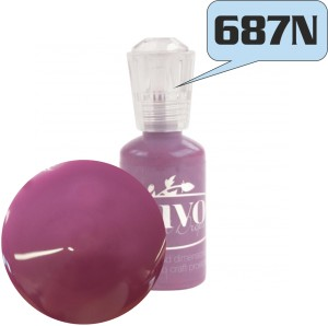 FARBA 3D NUVO CRYSTAL DROPS GLOSS 687N PLUM PUDDING