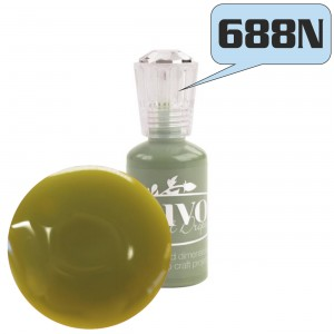 FARBA 3D NUVO CRYSTAL DROPS GLOSS 688N OLIVE BRANCH