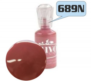 FARBA 3D NUVO CRYSTAL DROPS GLOSS 689N MOROCCAN RED