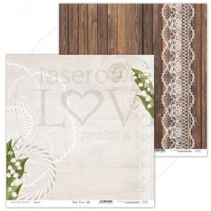 PAPIER SCRAP LL 30,5*30,5 FIRST LOVE 02