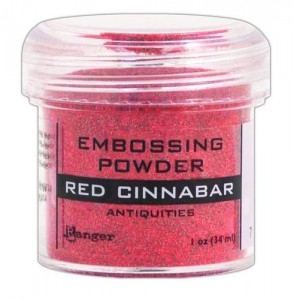 Puder do embossingu RANGER Embossing Powder 34ml EPJ36708 RED CINNABAR ANTIQUITIES