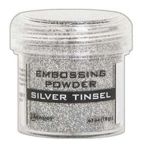 Puder do embossingu RANGER Embossing Powder 34ml EPJ60437 SILVER TINSEL