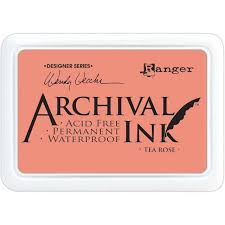 Archival Ink Pad Tea Rose