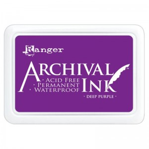 Archival Ink Pad Deep Purple