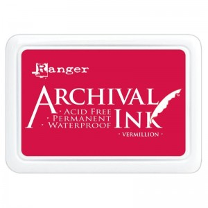 Archival Ink Pad Vermillion